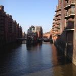 Blick von der Poggenmühlenbrücke