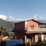 Tschüß, Annapurnagipfel!
