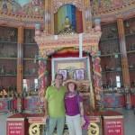 Touris im deutschen Tempel