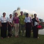 Begeisterte Birmaner