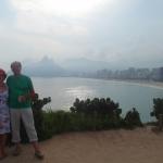 auf die Praia Ipanema