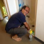 Karmayoga: Duschen putzen