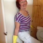 Karmayoga: Toiletten reinigen