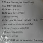 Tagesablauf